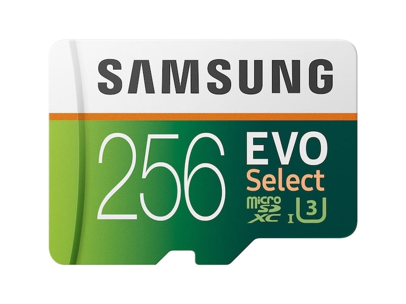 Samsung EVO Select microSDXC Memory Card 64GB, 128GB, 256GB + Free Shipping @Samsung.com