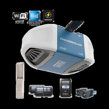 1-1/4 HP Equivalent Ultra-Quiet Belt Drive Smart Garage Door Opener with Battery Backup-Home Depot $135  YMMV