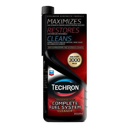 Chevron Techron Complete Fuel System Cleaner 20oz $8