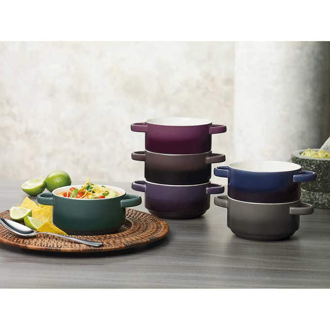 Gourmet Basics by Mikasa 6-piece Ombre Bowl Set for $12 with free shipping at Costco through 11/16