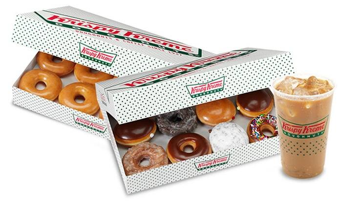 $10 for $20 Krispy Kreme at Groupon