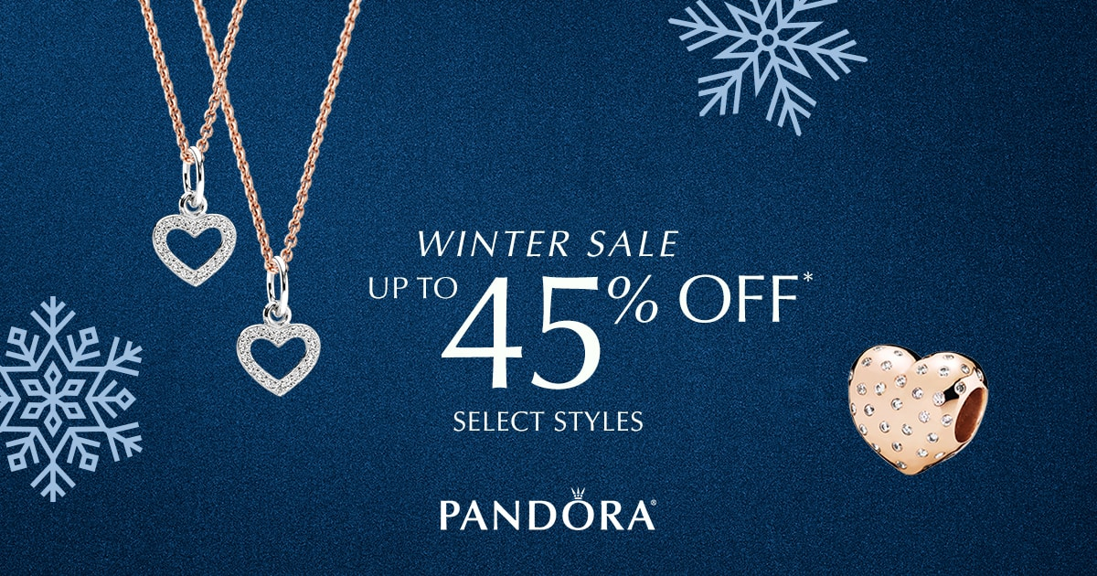 PANDORA Winter Sale - Up to 45% Off Select Jewelry