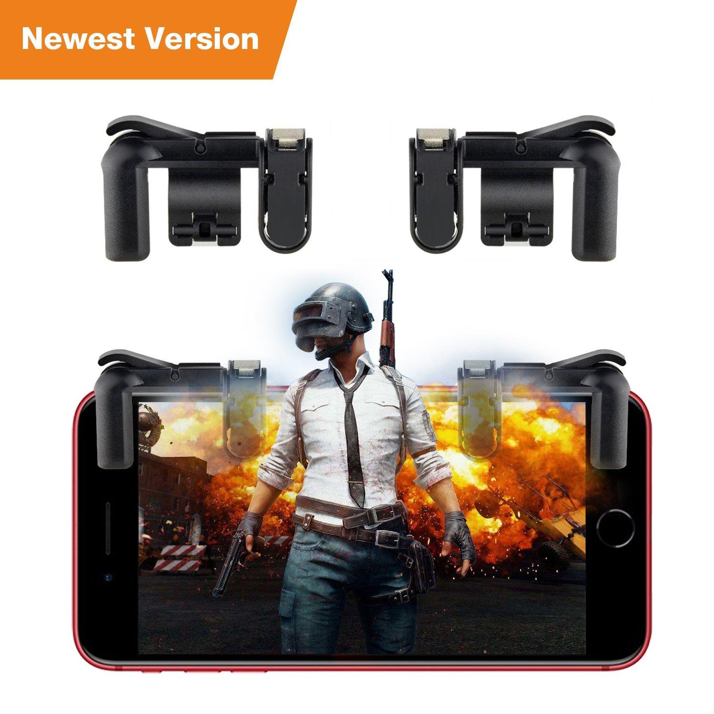PUBG Mobile Game Controller Cellphone Survival Game Controller PUBG Mobile Game Joystick for Android IOS iPhone $5.27