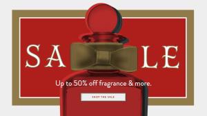 Penhaligon's sale. Up to 50% off luxury fragrances, candles etc