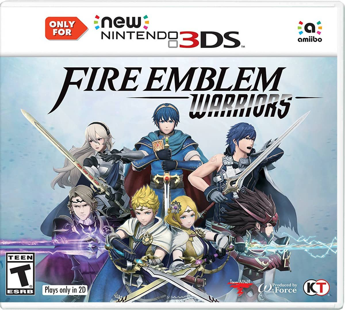 Amazon: Fire Emblem Warriors - New Nintendo 3DS $24, Walmart: $26
