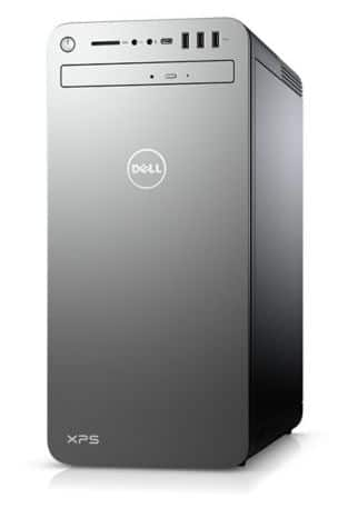 Dell XPS Special Edition Desktop i7 9700 RTX 2060 8GB RAM 256 NVMe and 2TB SATA HDD for $1,149.99 or less w/Amex offer
