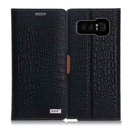 Samsung Galaxy Note 8 Case with premium PU leather.Vintage crocodile pattern cover $3.99