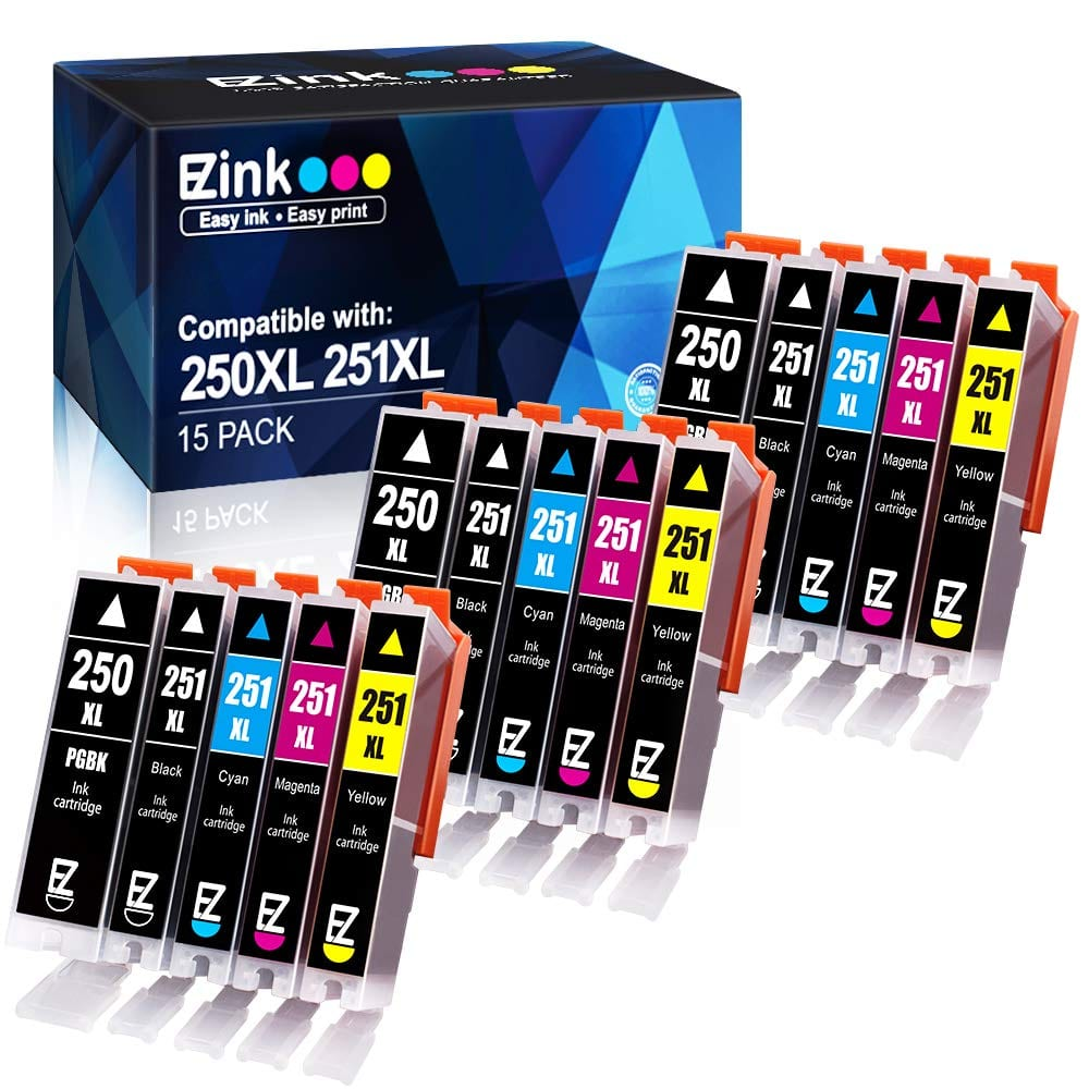 E-Z Ink Compatible Canon Ink Cartridges 250XL/251XL & 270XL/271XL & 280XXL/281XXL $10.96 @Amazon FS with Prime & More