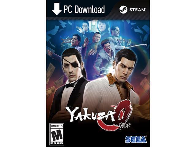Pre- Order Yakuza 0 Digital Deluxe Edition PC Version $14.99
