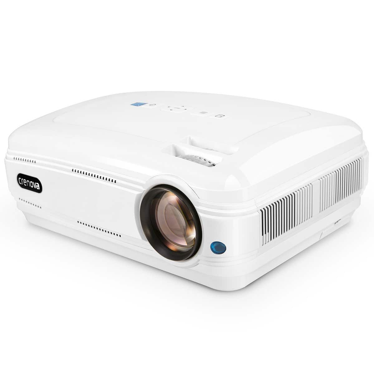 Lighting deal : Crenova XPE680 720P HD Projector, Home Theater Multimedia Video Office Projector for $76.71 @ Amazon