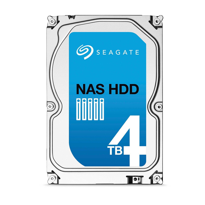 Seagate 4TB NAS HDD 3.5-Inch Internal Drive (ST4000VN000) $128.99 @ Amazon FS