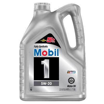 Mobil 1 Fully Synthetic (5w20) Oil 5 qt. Jug $21.99 + tax FS with Shoprunner from AutoZone