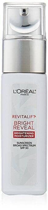 L'Oréal Paris Revitalift Bright Reveal SPF 30 Moisturizer, 1 fl. oz. $9.79@amazon