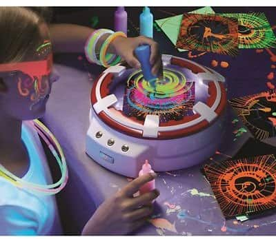 FAO Schwarz LED 7-Piece 3D Spin Art Toy Set for $9.99 @BedBath&beyond