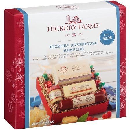 Hickory Farms® Hickory Farmhouse Sampler 12.25 oz. Box for $7.78 @walmart