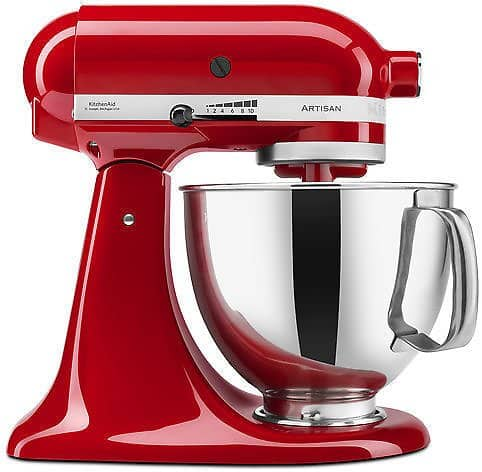 KitchenAid 5 Qt. Tilt-Back Stand Mixer (4 Colors) for  $179.99 @ebay (Manufacturer refurbished)