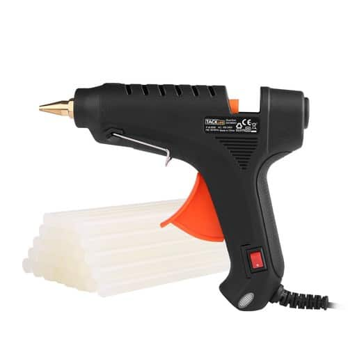 Tacklife GGO60AC 60w Classic Hot Glue Gun with 30 pcs Transparent Glue Sticks for $9.73 @Amazon