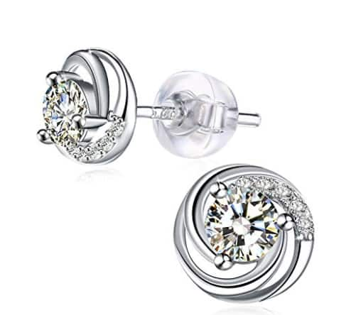 J.Rosée Jewelry 925 Sterling Silver with 3A for $5.97 @ Amazon