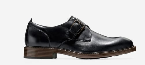 Kennedy Single Monk Strap Oxford  for  $90 original  $300