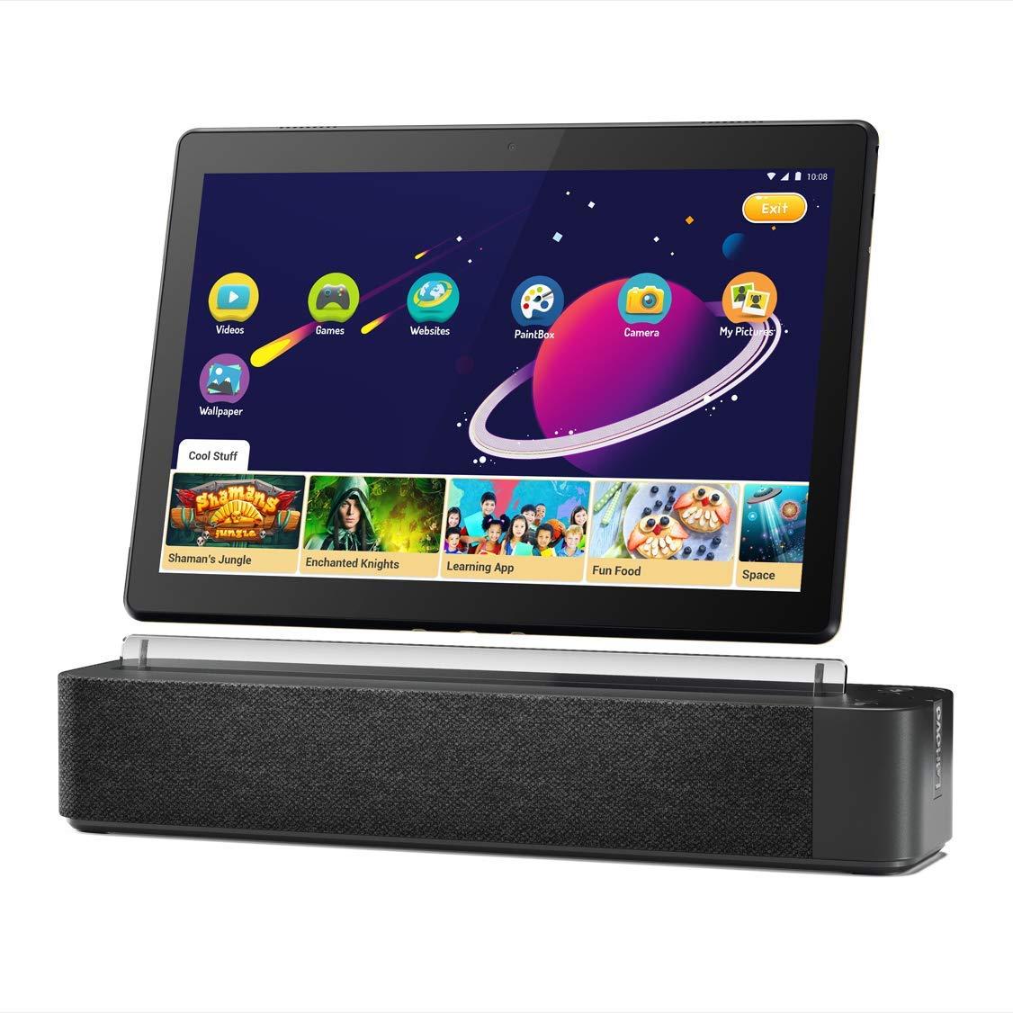 "Lenovo Smart Tab M10 HD 10.1"" Android Tablet 16GB [M10 HD] w/ Dock (1920 x 1200) $99"