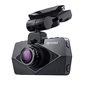 VETOMILE V2 Dash Cam 2.5K HD with Built-in Wifi and GPS for $59.99