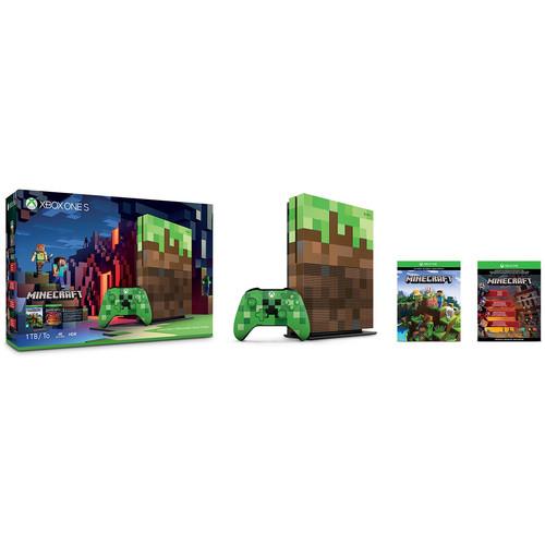 Microsoft Xbox One S Minecraft Limited Edition Bundle (1TB) $249.80