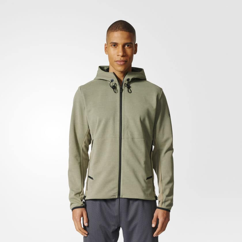 Climaheat Hooded Workout Jacket-$100