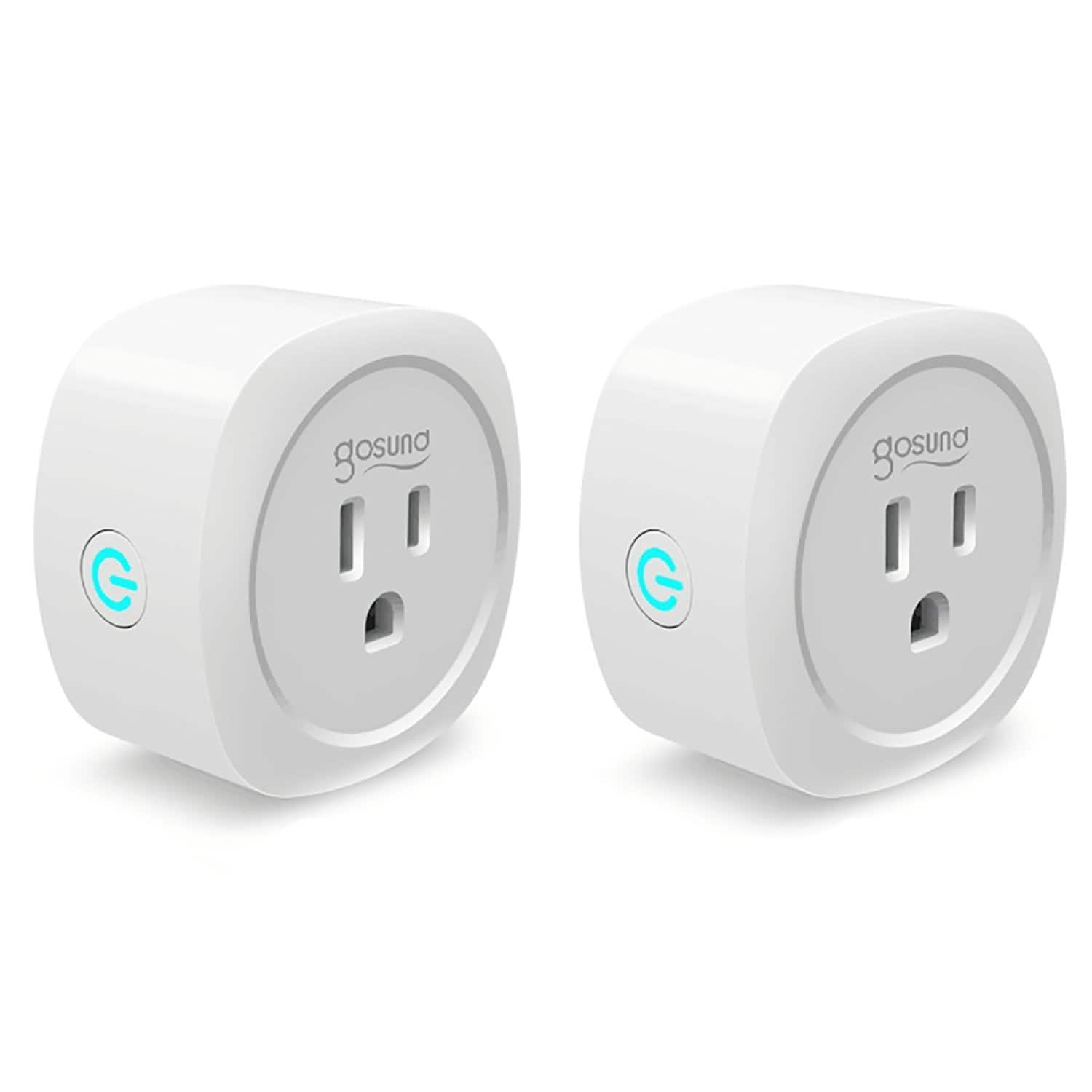 Gosund Wifi Smart Plug with Energy Monitoring (2-Pack), Compatible with Alexa Echo, No Hub Required at $20.69 @Amazon