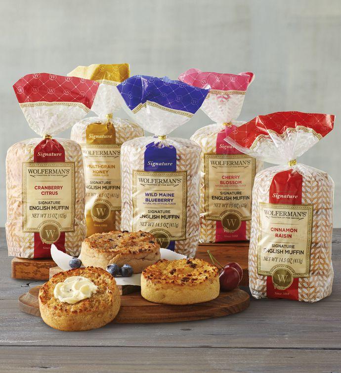 Wolferman's English Muffins 5-Packs (5-Flavors) $14.99 shipped Shoprunner.  Great muffins!
