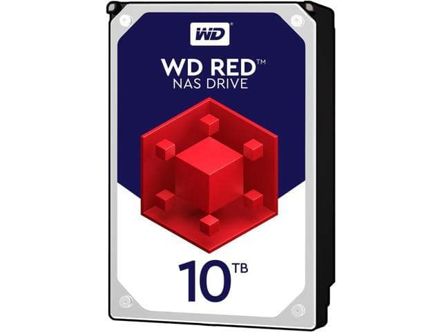 10TB Western Digital WD100EFAX NAS Hard Drive $300 AC @Newegg