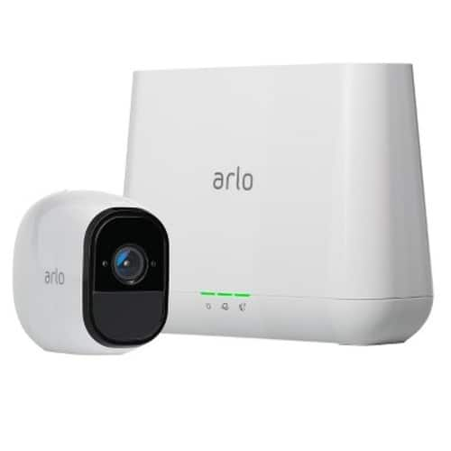 Arlo Pro Security System with Siren - 1 Rechargeable Wire-Free HD Camera with Audio, Indoor/Outdoor and Night Vision $198.96