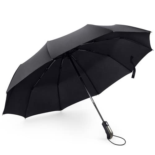 FYLINA Windproof Automatic Travel Umbrella $6.09 @Amazon