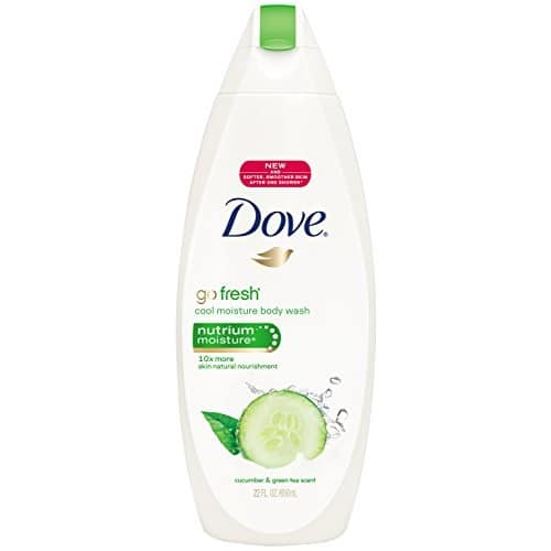 Amazon- Dove go fresh Body Wash Cucumber and Green Tea 22 oz, Pack of 4 - $18.98