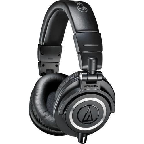 (Open box) Audio-Technica ATH-M50x Monitor Headphones (Black) - $104.98