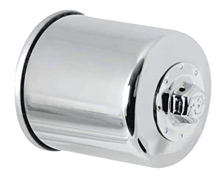 K&N KN-303C Motorcycle/Powersports High Performance Oil Filter [Chrome] $7.81