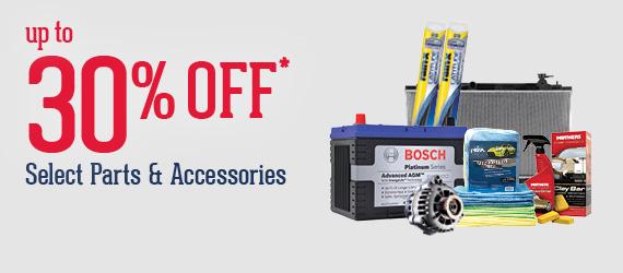 Pep Boys - Online 30% Off Parts & Accessories