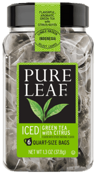 Three 16-ct Pure Leaf Green Tea bags for $1.44 (Plus free $10 bonus cash after Ibotta Rebate)