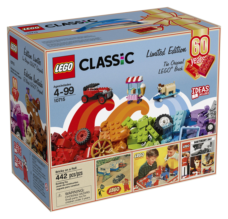 LEGO Classic Bricks on a Roll 10715 - 60th Anniversary Limited Edition $25