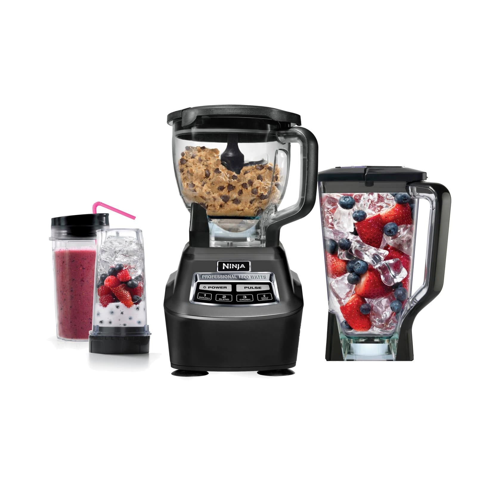 Ninja Mega Kitchen System (Blender, Processor, Nutri Ninja Cups) BL770 $99.99