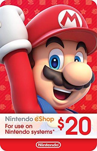 Google Express App Promocode 20% OFF: $20 Nintendo eShop Gift Card for $16