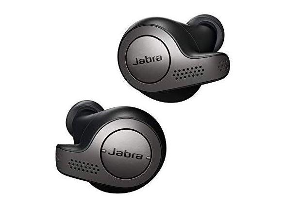 Jabra Elite 65t True Wireless Earbuds (Titanium Black) $90 + Free S&H w/ Prime
