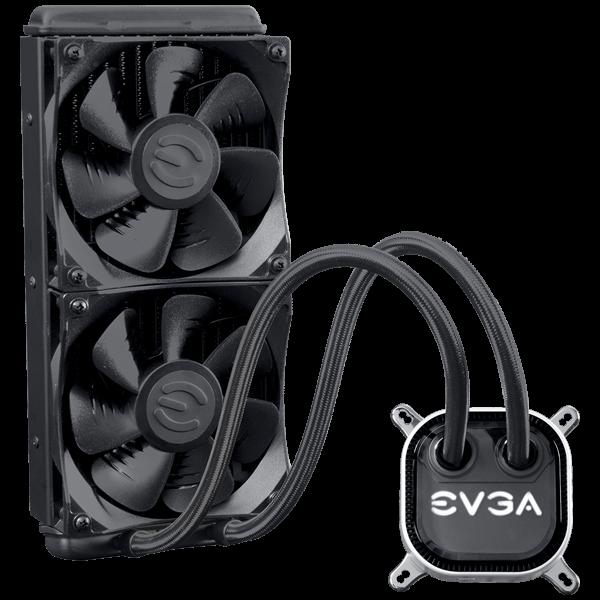 Refurb EVGA CLC 240 Liquid / Water CPU Cooler, RGB LED Cooling $69.99