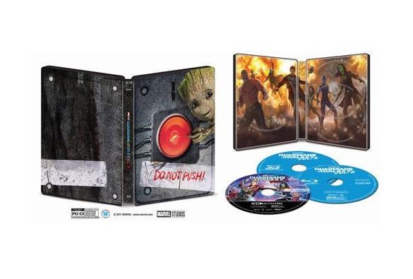 Guardians of the Galaxy Vol. 2 SteelBook Only @ Best Buy [Blu/DVD/Digital $29.99] [4k/3D/Blu/Digital $34.99] Preorder