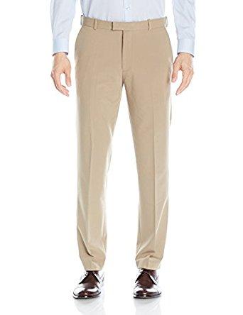 Van Heusen Men's Flex Straight Fit Flat Front Pant - Amazon $19.72 (Reg $37) All Colors