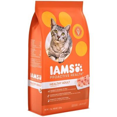 Iams Cat food 21 lbs Shipped $24