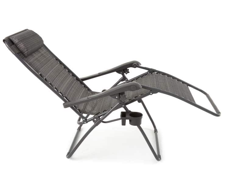 Zero gravity folding chair in store only at big lots $12.75 ymmv