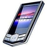 Eclipse Gunmetal 2.8V 4GB MP3 USB 2.0 Touchscreen Digital Music/Video Player $7.99 shipped