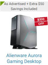 Alienware Aurora Gaming Desktop - Dell Black Friday Gaming PC and XPS Deals $949