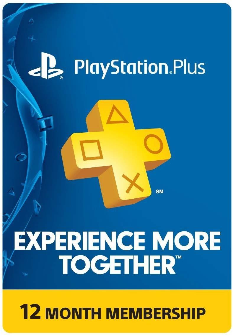 Playstation Plus 1 year - Amazon $44.99
