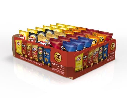 Frito-Lay Variety Pack, Classic Mix, 30 pack- 51.5 oz $10